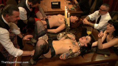 Photo number 15 from Consort Demotion shot for The Upper Floor on Kink.com. Featuring Krysta Kaos and Odile in hardcore BDSM & Fetish porn.