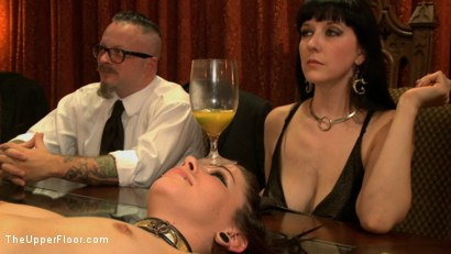 Photo number 3 from Consort Demotion shot for The Upper Floor on Kink.com. Featuring Krysta Kaos and Odile in hardcore BDSM & Fetish porn.