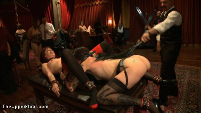 Photo number 7 from Consort Demotion shot for The Upper Floor on Kink.com. Featuring Krysta Kaos and Odile in hardcore BDSM & Fetish porn.