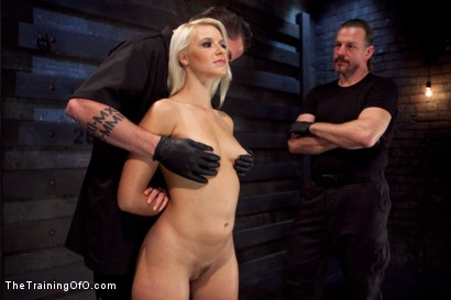 Photo number 1 from Training Anikka Albrite - Day 1 shot for The Training Of O on Kink.com. Featuring Anikka Albrite and Maestro Stefanos in hardcore BDSM & Fetish porn.