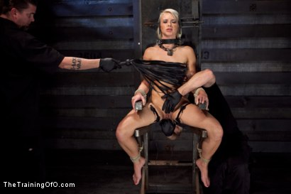 Photo number 4 from Training Anikka Albrite - Day 1 shot for The Training Of O on Kink.com. Featuring Anikka Albrite and Maestro Stefanos in hardcore BDSM & Fetish porn.
