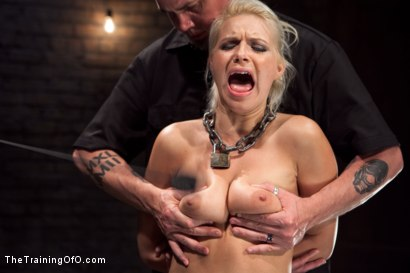 Photo number 10 from Training Anikka Albrite - Day 1 shot for The Training Of O on Kink.com. Featuring Anikka Albrite and Maestro Stefanos in hardcore BDSM & Fetish porn.