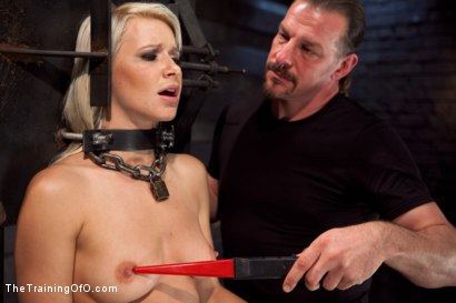 Photo number 15 from Training Anikka Albrite - Day 1 shot for The Training Of O on Kink.com. Featuring Anikka Albrite and Maestro Stefanos in hardcore BDSM & Fetish porn.