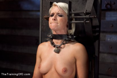 Photo number 5 from Training Anikka Albrite - Day 1 shot for The Training Of O on Kink.com. Featuring Anikka Albrite and Maestro Stefanos in hardcore BDSM & Fetish porn.