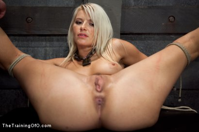 Photo number 11 from Opening up Anikka Albrite: Day Two shot for The Training Of O on Kink.com. Featuring Anikka Albrite and Aiden Starr in hardcore BDSM & Fetish porn.
