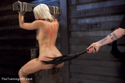 Photo number 27 from Opening up Anikka Albrite: Day Two shot for The Training Of O on Kink.com. Featuring Anikka Albrite and Aiden Starr in hardcore BDSM & Fetish porn.