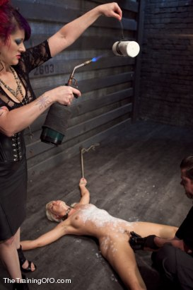 Photo number 13 from Training Anikka Albright Day 3 shot for The Training Of O on Kink.com. Featuring Anikka Albrite and Soma Snakeoil (Goddess Soma) in hardcore BDSM & Fetish porn.