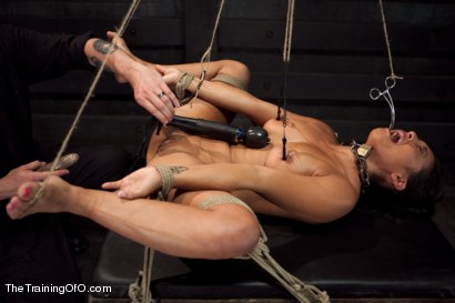 Photo number 12 from Training Adrianna Luna-Day 4 Extreme Torment shot for The Training Of O on Kink.com. Featuring Adrianna Luna in hardcore BDSM & Fetish porn.