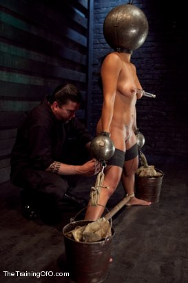 Photo number 15 from Training Adrianna Luna-Day 4 Extreme Torment shot for The Training Of O on Kink.com. Featuring Adrianna Luna in hardcore BDSM & Fetish porn.
