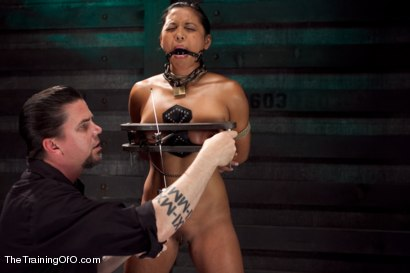 Photo number 3 from Training Adrianna Luna-Day 4 Extreme Torment shot for The Training Of O on Kink.com. Featuring Adrianna Luna in hardcore BDSM & Fetish porn.