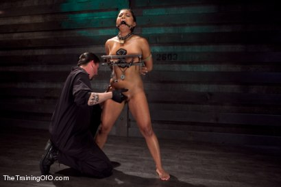 Photo number 5 from Training Adrianna Luna-Day 4 Extreme Torment shot for The Training Of O on Kink.com. Featuring Adrianna Luna in hardcore BDSM & Fetish porn.