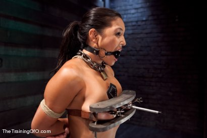 Photo number 1 from Training Adrianna Luna-Day 4 Extreme Torment shot for The Training Of O on Kink.com. Featuring Adrianna Luna in hardcore BDSM & Fetish porn.