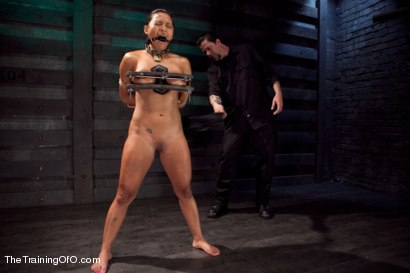 Photo number 4 from Training Adrianna Luna-Day 4 Extreme Torment shot for The Training Of O on Kink.com. Featuring Adrianna Luna in hardcore BDSM & Fetish porn.