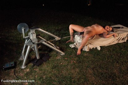 Photo number 5 from FuckingMachines.com Feature -Deep Woods Invasion: The Return of Dianne shot for Fucking Machines on Kink.com. Featuring Ashlynn Leigh and Gia DiMarco in hardcore BDSM & Fetish porn.