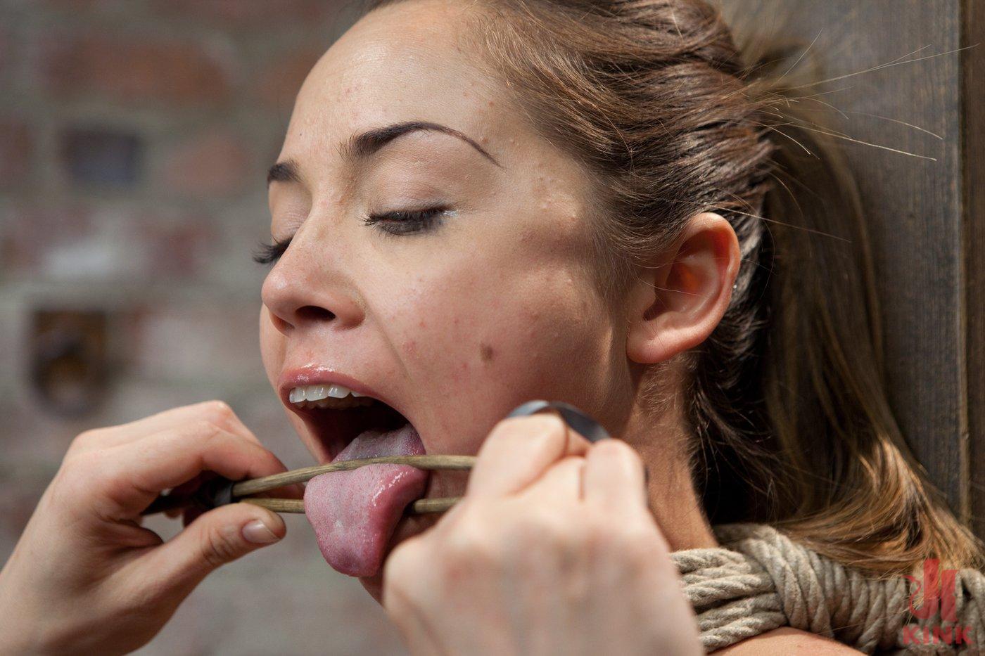 Photo number 13 from Kristina Rose shot for Hogtied on Kink.com. Featuring Kristina Rose in hardcore BDSM & Fetish porn.