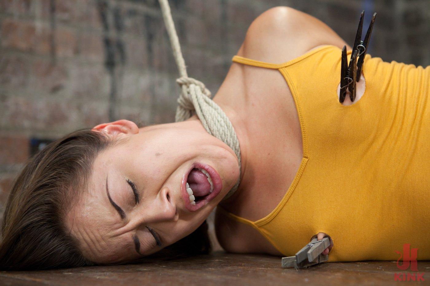 Photo number 3 from Kristina Rose shot for Hogtied on Kink.com. Featuring Kristina Rose in hardcore BDSM & Fetish porn.