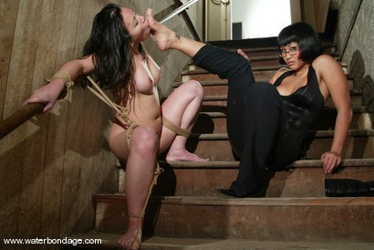 Photo number 14 from ABDUCTION FANTASY shot for Water Bondage on Kink.com. Featuring DragonLily and ChynaWhite in hardcore BDSM & Fetish porn.