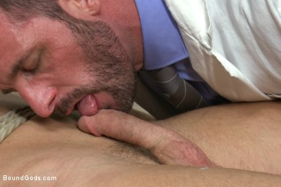 Photo number 2 from Doctor Morgan Black's Fantasy shot for Bound Gods on Kink.com. Featuring Morgan Black and Mitch Vaughn in hardcore BDSM & Fetish porn.