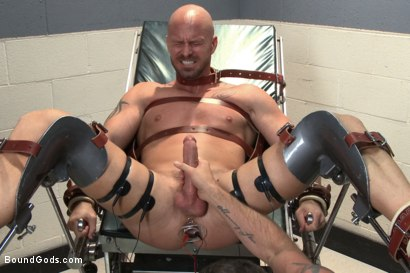 Photo number 9 from Doctor Morgan Black's Fantasy shot for Bound Gods on Kink.com. Featuring Morgan Black and Mitch Vaughn in hardcore BDSM & Fetish porn.