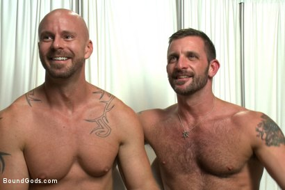 Photo number 15 from Doctor Morgan Black's Fantasy shot for Bound Gods on Kink.com. Featuring Morgan Black and Mitch Vaughn in hardcore BDSM & Fetish porn.
