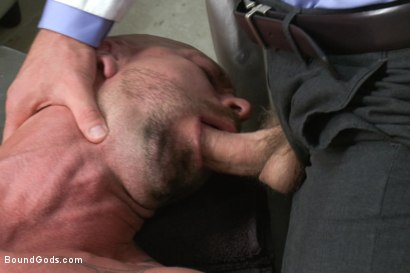 Photo number 3 from Doctor Morgan Black's Fantasy shot for Bound Gods on Kink.com. Featuring Morgan Black and Mitch Vaughn in hardcore BDSM & Fetish porn.