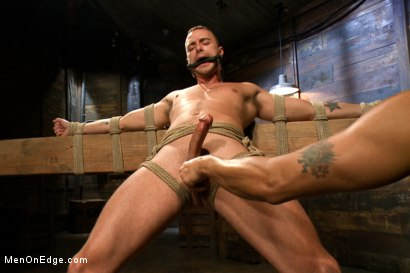 Photo number 9 from Jesse Colter - Taken, Tied up and Edged shot for Men On Edge on Kink.com. Featuring Jessie Colter and Will Jasper in hardcore BDSM & Fetish porn.