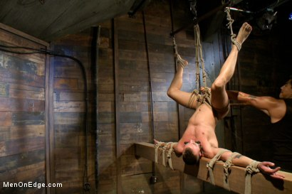 Photo number 11 from Jesse Colter - Taken, Tied up and Edged shot for Men On Edge on Kink.com. Featuring Jessie Colter and Will Jasper in hardcore BDSM & Fetish porn.