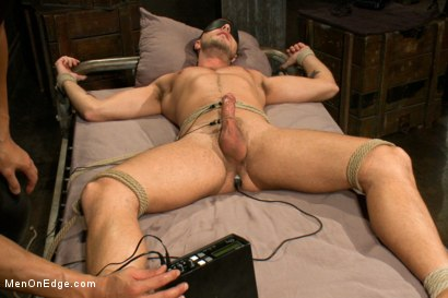 Photo number 13 from Jesse Colter - Taken, Tied up and Edged shot for Men On Edge on Kink.com. Featuring Jessie Colter and Will Jasper in hardcore BDSM & Fetish porn.