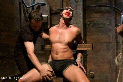 Photo number 3 from Jesse Colter - Taken, Tied up and Edged shot for Men On Edge on Kink.com. Featuring Jessie Colter and Will Jasper in hardcore BDSM & Fetish porn.