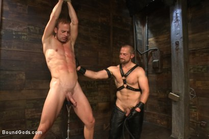 Photo number 7 from Cock Slave shot for Bound Gods on Kink.com. Featuring Adam Herst and Patrick Rouge in hardcore BDSM & Fetish porn.