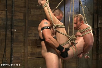 Photo number 12 from Cock Slave shot for Bound Gods on Kink.com. Featuring Adam Herst and Patrick Rouge in hardcore BDSM & Fetish porn.