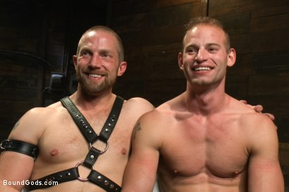 Photo number 15 from Cock Slave shot for Bound Gods on Kink.com. Featuring Adam Herst and Patrick Rouge in hardcore BDSM & Fetish porn.