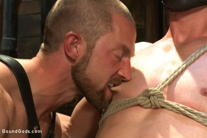 Photo number 4 from Cock Slave shot for Bound Gods on Kink.com. Featuring Adam Herst and Patrick Rouge in hardcore BDSM & Fetish porn.