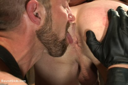 Photo number 8 from Cock Slave shot for Bound Gods on Kink.com. Featuring Adam Herst and Patrick Rouge in hardcore BDSM & Fetish porn.