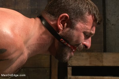 Photo number 12 from Mr Morgan Black is taken, beaten, edged and milked. shot for Men On Edge on Kink.com. Featuring Morgan Black and Will Jasper in hardcore BDSM & Fetish porn.