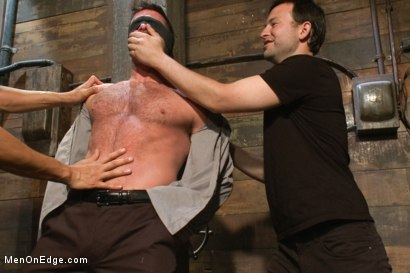 Photo number 4 from Mr Morgan Black is taken, beaten, edged and milked. shot for Men On Edge on Kink.com. Featuring Morgan Black and Will Jasper in hardcore BDSM & Fetish porn.