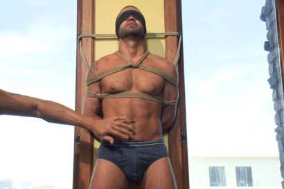Photo number 2 from Dominic Pacifico Edged shot for Men On Edge on Kink.com. Featuring Dominic Pacifico in hardcore BDSM & Fetish porn.