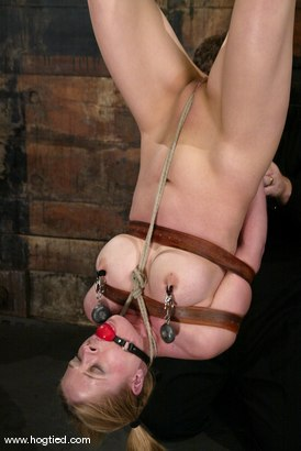 Photo number 9 from Anna Mills shot for Hogtied on Kink.com. Featuring Anna Mills in hardcore BDSM & Fetish porn.