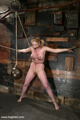 Photo number 14 from Anna Mills shot for Hogtied on Kink.com. Featuring Anna Mills in hardcore BDSM & Fetish porn.