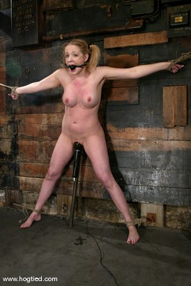 Photo number 15 from Anna Mills shot for Hogtied on Kink.com. Featuring Anna Mills in hardcore BDSM & Fetish porn.