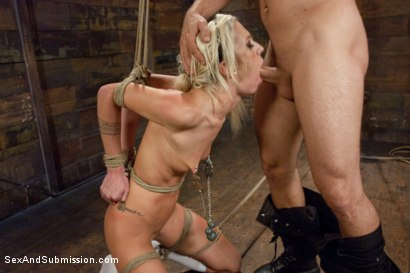 Photo number 6 from Hot Little Blonde Gets Taken Down!  Rough and Kinky Sex shot for Sex And Submission on Kink.com. Featuring Mr. Pete and Maia Davis in hardcore BDSM & Fetish porn.