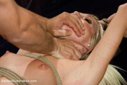 Photo number 13 from Hot Little Blonde Gets Taken Down!  Rough and Kinky Sex shot for Sex And Submission on Kink.com. Featuring Mr. Pete and Maia Davis in hardcore BDSM & Fetish porn.
