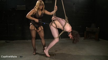 Photo number 12 from Dragonlilys Bitch Boy shot for Captive Male on Kink.com. Featuring DragonLily and Kade in hardcore BDSM & Fetish porn.
