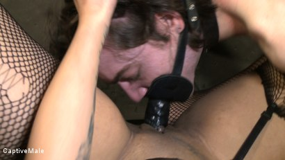 Photo number 9 from Dragonlilys Bitch Boy shot for Captive Male on Kink.com. Featuring DragonLily and Kade in hardcore BDSM & Fetish porn.
