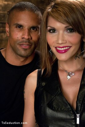Photo number 1 from Hot on Hot ABUSE: Ts Eva Fucking a Buff, Black Guy shot for TS Seduction on Kink.com. Featuring Eva Lin and Robert Axel in hardcore BDSM & Fetish porn.