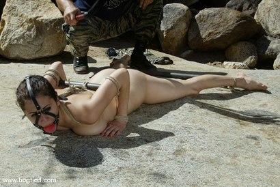 Photo number 9 from Cabo, the Return. Part 8 shot for Hogtied on Kink.com. Featuring Princess Donna Dolore, Sgt. Major, Jenni Lee, Dee Williams and Jenya in hardcore BDSM & Fetish porn.