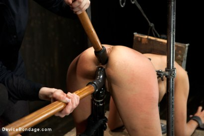 Photo number 19 from Beretta James Live Show - Complete Edited Version shot for Device Bondage on Kink.com. Featuring Beretta James, Mz Berlin and Missy Minks in hardcore BDSM & Fetish porn.