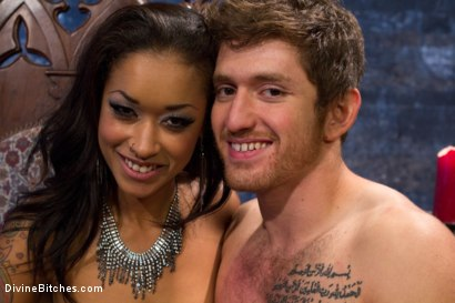 Photo number 9 from Prostate Milking Denial shot for Divine Bitches on Kink.com. Featuring Skin Diamond and Steve Sterling in hardcore BDSM & Fetish porn.