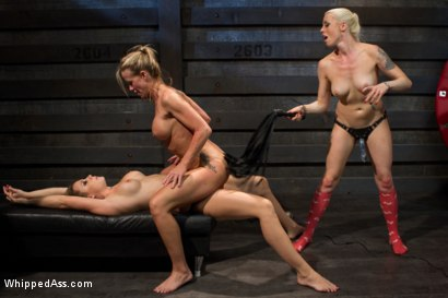 Photo number 10 from Hot MILF Stepmom fisted and double penetrated by step daughter and her best friend! shot for Whipped Ass on Kink.com. Featuring Chanel Preston, Simone Sonay and Lorelei Lee in hardcore BDSM & Fetish porn.