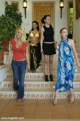 Photo number 5 from Cabo, the Return. Part 1 shot for Hogtied on Kink.com. Featuring Jenni Lee, Dee Williams, Princess Donna Dolore, Jenya, Sgt. Major and Sophia in hardcore BDSM & Fetish porn.